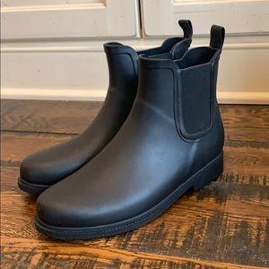 J Crew Chelsea matte rain boots AC041